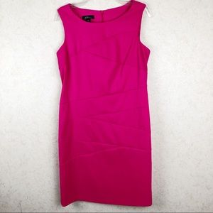 AGB hot pink dress